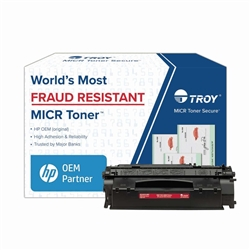 TROY Brand Secure MICR P2015 / Q7553X High Yield Toner Cartridge - New Troy 02-81213-001