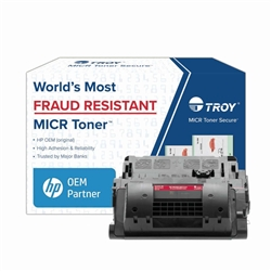 TROY Brand Secure MICR M605 / M606 / CF281X High Yield Toner Cartridge - New Troy 02-82021-001