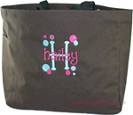 Chocolate Tote/Carry-all