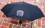 Black Personalized Umbrella