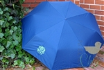 Preppy Navy Personalized Umbrella
