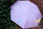 Pink Personalized Umbrella