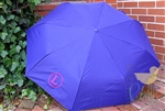 Purple Personalized Umbrella