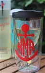 Wine Sippy Cup with Monogram