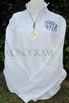 Personalized Zip Sweatshirt
