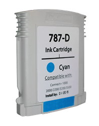787-D Ink Cartridge for Pitney Bowes Connect Plus Series of Machines