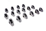 "Comp Cams 17002-16 : Rocker Arms, High Energy Diecast, Stud Mount, Full Roller, Aluminum, 1.60 Ratio, 3/8"" Stud, SBC, Set of 16"