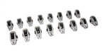 "Comp Cams 17021-16 : Rocker Arms, High Energy Diecast, Stud Mount, Full Roller, Aluminum, 1.70 Ratio, 7/16"" Stud, BBC, Set of 16"