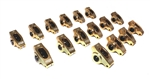 "Comp Cams 19004-16 : Rocker Arms, Ultra Gold, Stud Mount, Full Roller, Aluminum, 1.50 Ratio, 7/16"" Stud, SBC, Set of 16"