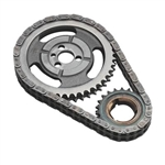 Comp Cams 3100 : Timing Chain & Gear Set, Hi-Tech, Double Roller, SBC V6/V8
