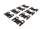 "Comp Cams 4835-8 : Guideplates, Flat, 5/16"" Pushrod Size, Chevy/Ford w/ Relocated Ports, Set of 8"