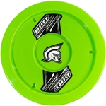 "Dirt Defender 10050 : 15"" Wheel Cover, ABS Plastic, Fluorescent Green"