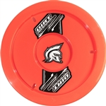 "Dirt Defender 10081 : 15"" Wheel Cover, ABS Plastic, Fluorescent Red"