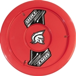 "Dirt Defender 10120 : 15"" Wheel Cover, ABS Plastic, Red"