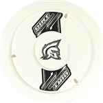 "Dirt Defender 10130 : 15"" Wheel Cover, ABS Plastic, White"