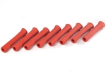 "DEI 010522 : 6"" Spark Plug Boot Protectors, Protect-A-Boot, Red, Set of 8"