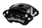 Wilwood 120-11873-BK : Brake Caliper, Aluminum, Black, 2-Piston, 1.620""