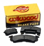 Wilwood 15A-5938K : Brake Pads, PolyMatrix A, Semi-Metallic