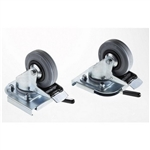 Zarges 40742 : Pair of Clip-On Castors, Swivel