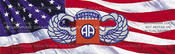 82nd Airborne Military Rear Window Graphic