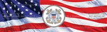 U.S. Coast Guard Military Rear Window Graphic