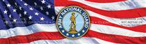 Army national Guard Military Rear Window Graphic