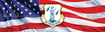 Air National Guard Military Rear Window Graphic