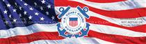 Coast Guard Auxiliary Military Rear Window Graphic