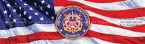 U.S. Coast Guard Reserve Military Rear Window Graphic