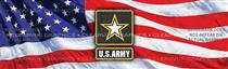 U.S. Army 2 Military Rear Window Graphic