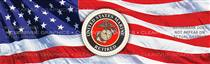 U.S. Marines Retired Military Rear Window Graphic