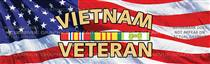 Vietnam Veteran Military Rear Window Graphic