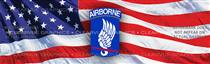 173rd Airborne Brigade Military Rear Window Graphic