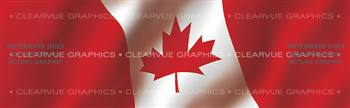 Canada Rear Window Graphic
