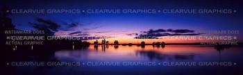 Clear Lake Nature Rear Window Graphic