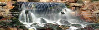 Waterfalls Nature Rear Window Graphic