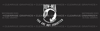 POW MIA 3 Patriotic Rear Window Graphic