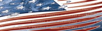 Stars & Stripes Patriotic Rear Window Graphic
