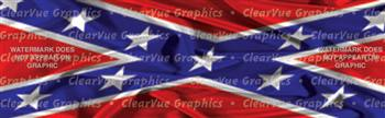 Confederacy Patriotic Rear Window Graphic