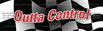 Outta Control Racing Rear Window Graphic