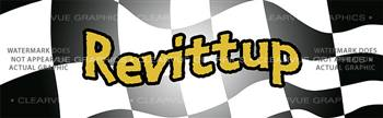 Revittup Racing Rear Window Graphic
