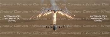 A Flair For Flares Aircraft Rear Window Graphic