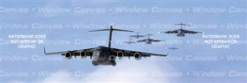 Convoy Aircraft Rear Window Graphic