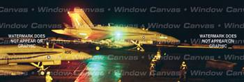 Night Ops Aircraft Rear Window Graphic