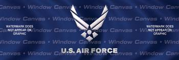 USAF Military Rear Window Graphic