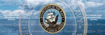 Navy Pride Military Rear Window Graphic