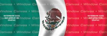 Mexico Flag Rear Window Graphic