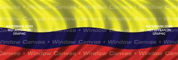 Columbia Flag Rear Window Graphic