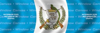 Guatemala Flag Rear Window Graphic