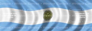 Argentina Flag Rear Window Graphic